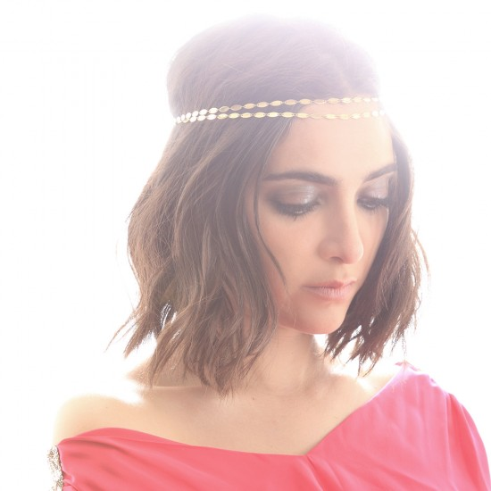 headband-attrayante-double-chaine-dore-fetes-noel